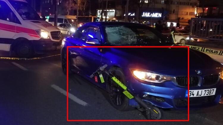 Son dakika haberler: Beşiktaş'ta elektrikli scooter kullanan gencin ölümüne neden olmuştu! Flaş gelişme...