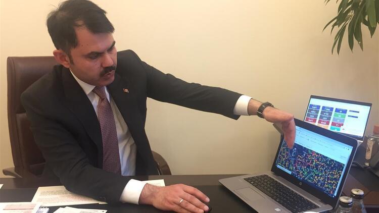 """Çevre ve Şehircilik Bakanı Kurum: 81 ilin 3 boyutlu dijital ikizini çıkardık"""""""
