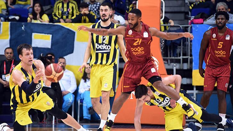 Son Dakika | Galatasaray, Fenerbahçe'yi basketbol derbisinde de mağlup etti, seriyi sonlandırdı!