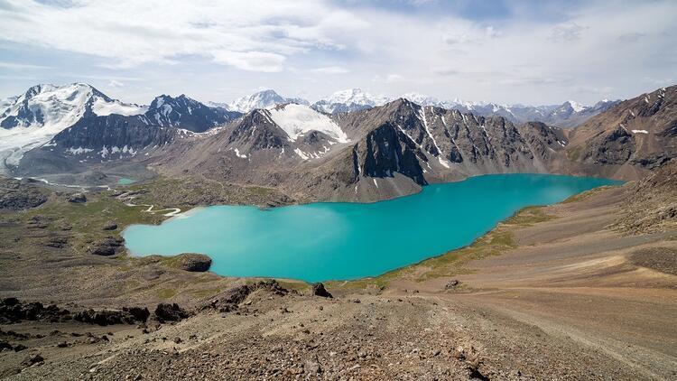 3 bin 900 metre yükseklikteki turkuaz güzel