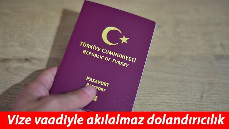 İstanbul'da kurdukları sahte internet sitelerinde vize vaadiyle dolandırıyorlar