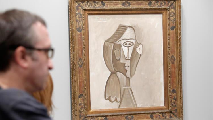 """Picasso'nun """"Jacqueline'nin Portresi"""" tablosu 6,5 milyon Euro'ya satışta"""