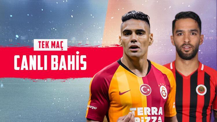 Galatasaray üst üste 8. galibiyet için sahada! Gençlerbirliği karşısında iddaa oranı...