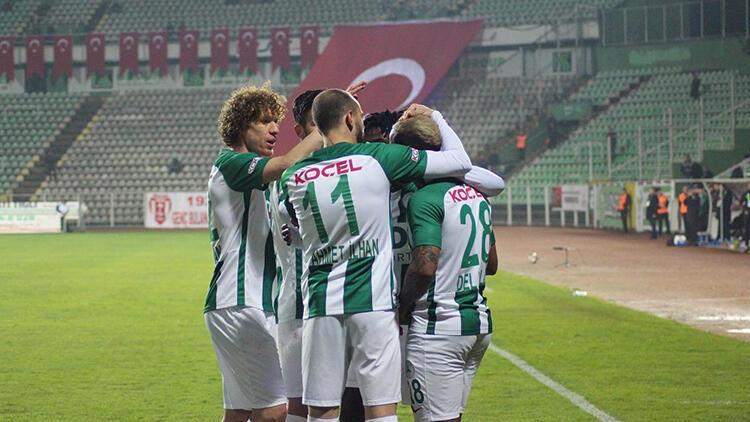 Giresunspor 2-0 Boluspor
