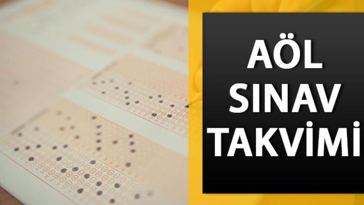 AÖL 2. dönem sınavları ne zaman? Açık öğretim lise sınavı ne zaman?