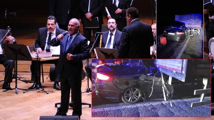 Ünlü hafız ve mevlithan İsmail Coşar ile eşi trafik kazasında yaşamını yitirdi