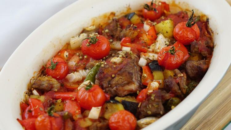Kuşbaşı etin sebzelerle müthiş birlikteliği: Şehzade kebabı