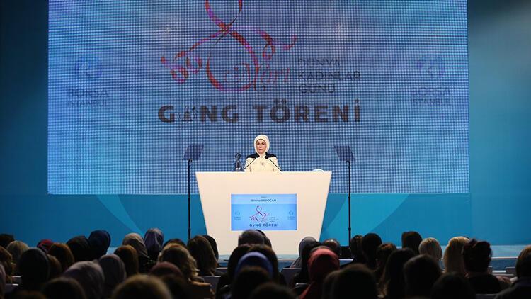 Borsa İstanbul'da 8 Mart'a özel tören