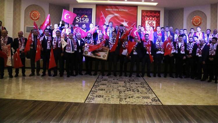 Sivasspor'da G.Saray öncesi birlik beraberlik programı