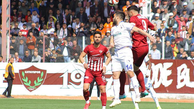 Hatayspor 0-0 Büyükşehir Belediye Erzurumspor