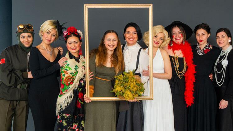 Kadınlar için Sonsuzluğun 8 ikonu etkinliği düzenlendi