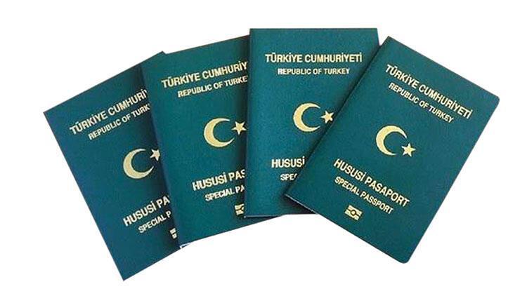 Yeşil pasaporta yeşil ışık