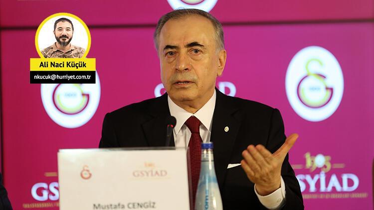 """Galatasaray Başkanı Mustafa Cengiz, MHK'ya seslendi: """"Mete Kalkavan'ı istemiyoruz"""""""