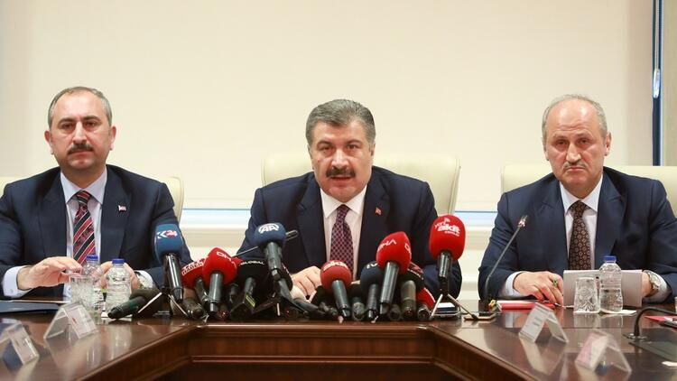 Son dakika haberi... Sağlık Bakanı Fahrettin Koca açıkladı: Corona Virüs sayısı 5'e çıktı