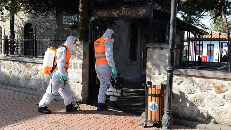 Tarihi mekanlarda korona virüs temizliği