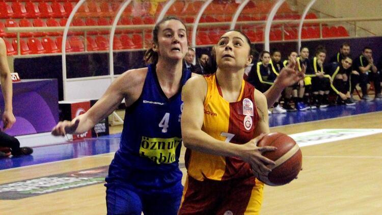 Son Dakika | Kadınlar Basketbol Ligi'nde Galatasaray, derbide Fenerbahçe'yi mağlup etti