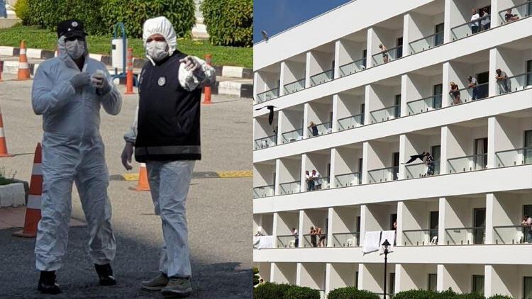 KKTC'de karantinaya alınan oteldeki son durum! Türk rehberler anlattı…