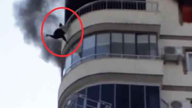 Yangından korkan kadın 8. kattan aşağı düşmüştü... İtfaiye amiri açığa alındı!