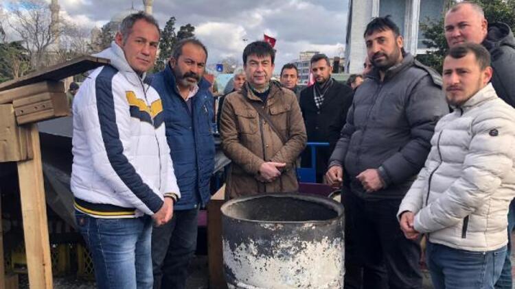 """İBB işçileri eyleminde """"Koronavirüs"""" kısıtlaması"""
