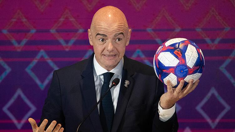 FIFA Başkanı Infantino'dan 2021 Dünya Kulüpler Kupası'nın ertelenmesi talebi