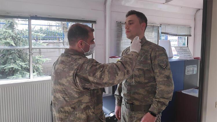 Askeri birliklerde Corona Virüs tedbirleri uygulanmaya devam ediyor