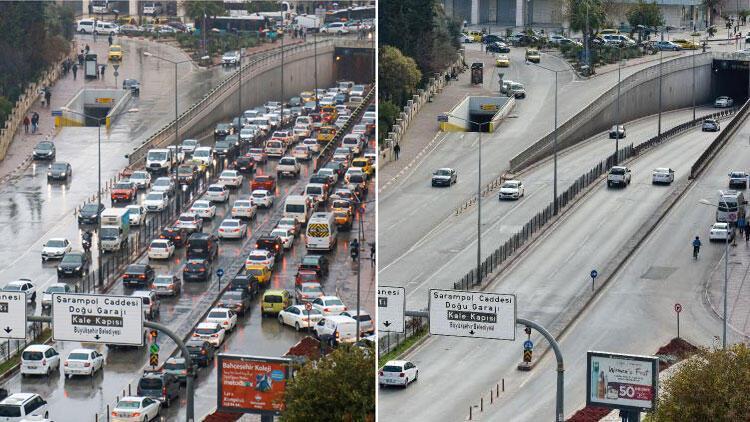 Yer Antalya... Corona virüsten önce ve sonra...