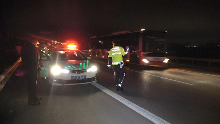 Bursa'da otobandaotomobilin çarptığı yaya öldü