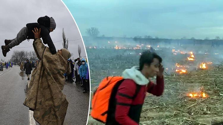 Acımasızca saldırdılar! Yunanistan sınırında son durum