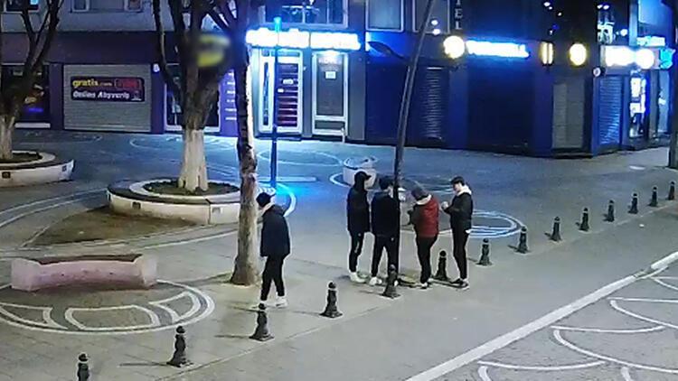 Kırklareli'nde sokaktaki el dezenfektanlarına zarar veren 5 çocuk serbest