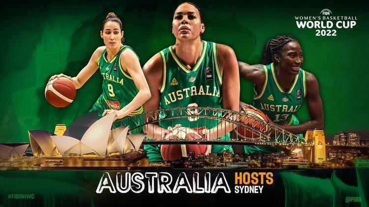 2022 FIBA Kadınlar Dünya Kupası, Avustralya'da!