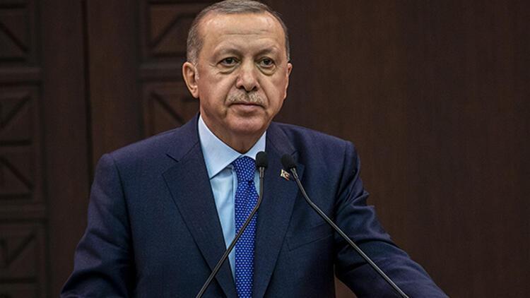 Cumhurbaşkanı Recep Tayyip Erdoğan'dan, şehit ailelerine taziye mesajı