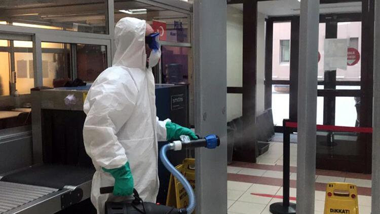 Bakırköy Adliyesi'nde ilk 'corona virüs' vakası