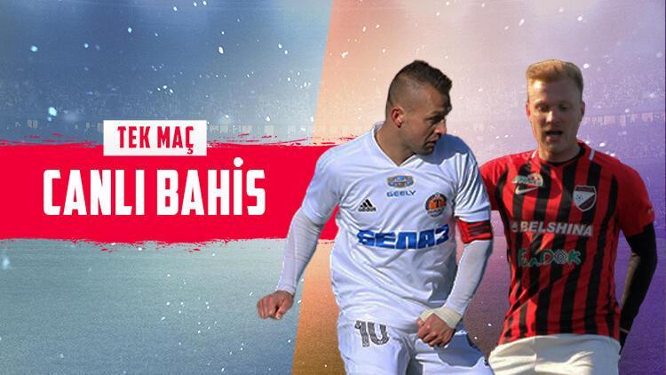 Belarus Ligi'ne banko iddaa tahmini arayanlar buraya! Haftanın açılış maçında...