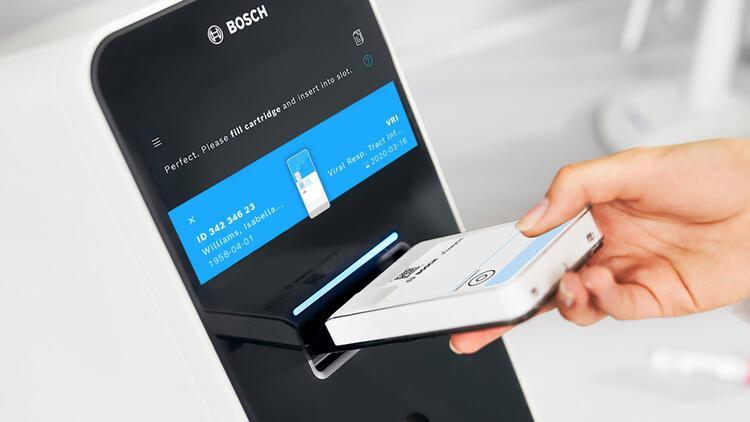 Bosch, koronavirüse karşı hızlı test geliştirdi