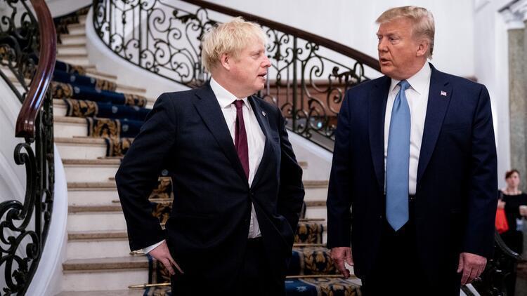 """Trump, Kovid-19'a yakalanan İngiltere Başbakanı Johnson'a """"acil şifalar"""" diledi"""