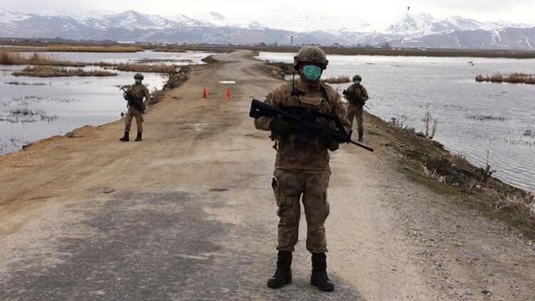Son dakika: Van'da İran sınırındaki bir mahalle karantinaya alındı