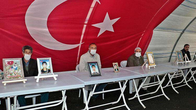 Diyarbakır'da HDP önündeki eylemde 208'inci gün