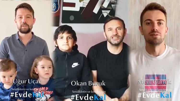 Başakşehir'den 'Evde kal Türkiye' paylaşımı