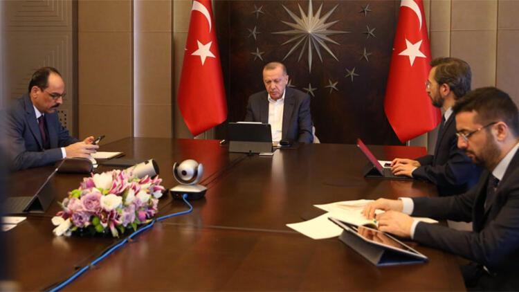 Son dakika haberler... Cumhurbaşkanı Erdoğan, MİT Başkanı Fidan ile görüştü