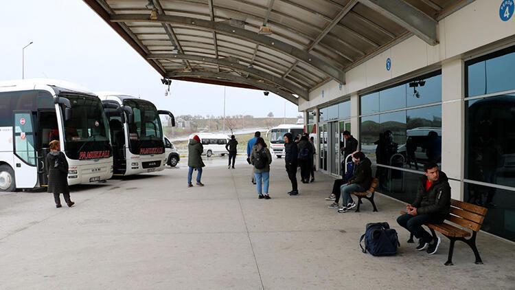 Çanakkale'de otobüs seferleri Valilik iznine bağlandı