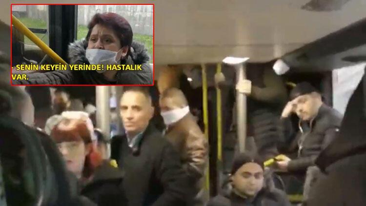 İBB seferleri azalttı! İstanbul'da toplu taşıma doldu taştı!