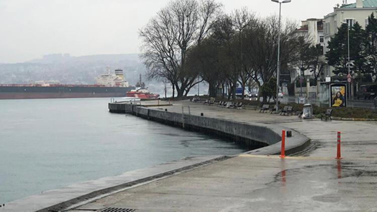 İstanbul Valisi duyurmuştu! Bebek ve Tarabya sahili boş kaldı