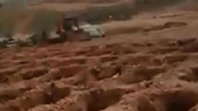 Gaziantep'te 'gerçek dışı' toplu mezar paylaşımına 3 gözaltı