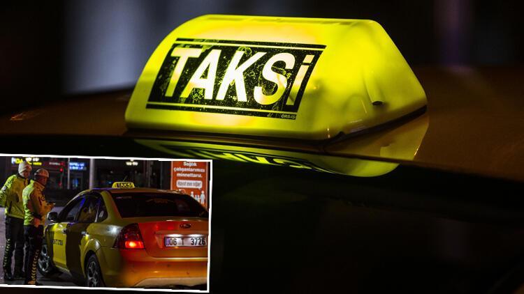Son dakika haberi: Taksilerde yeni koronavirüs uygulaması 00.01'de başladı! Ve ilk ceza kesildi