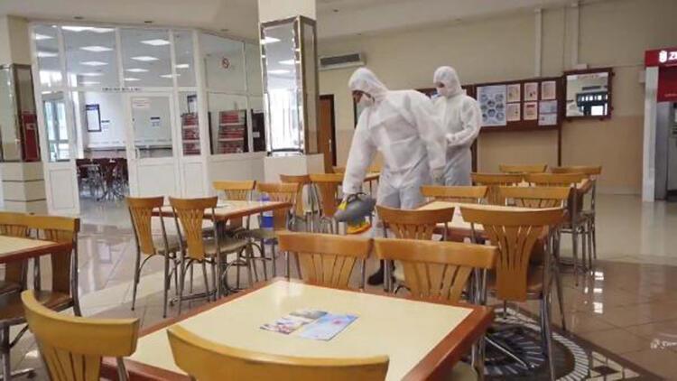 MSB: Birliklerde belirli periyotlarla dezenfeksiyon yapılıyor