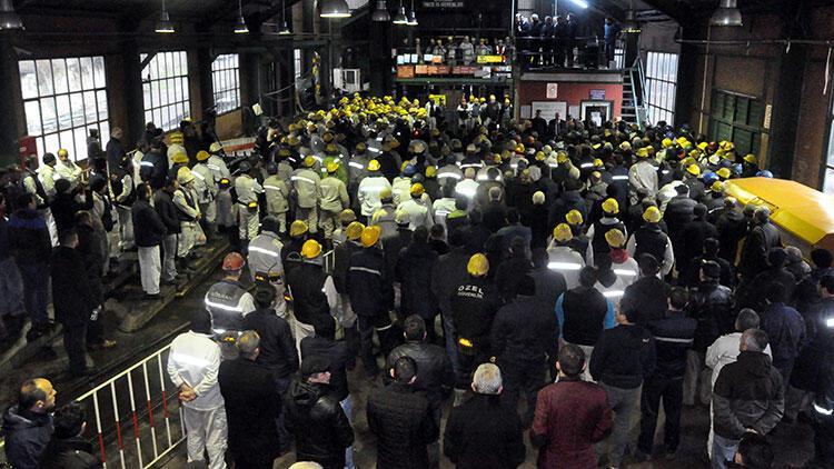 Türkiye Taşkömürü Kurumu'nda üretim durduruldu