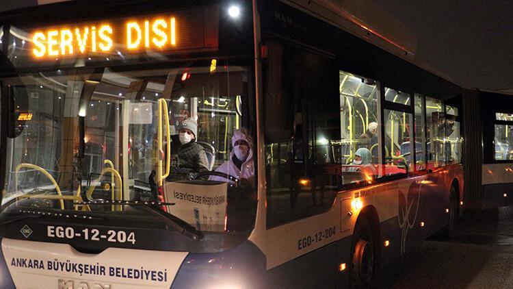 Ankara'da gözlem altındaki 256 kişi başka yurda sevk edildi