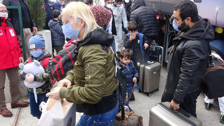 206 kişi Bursa'da yurtlara yerleştirildi