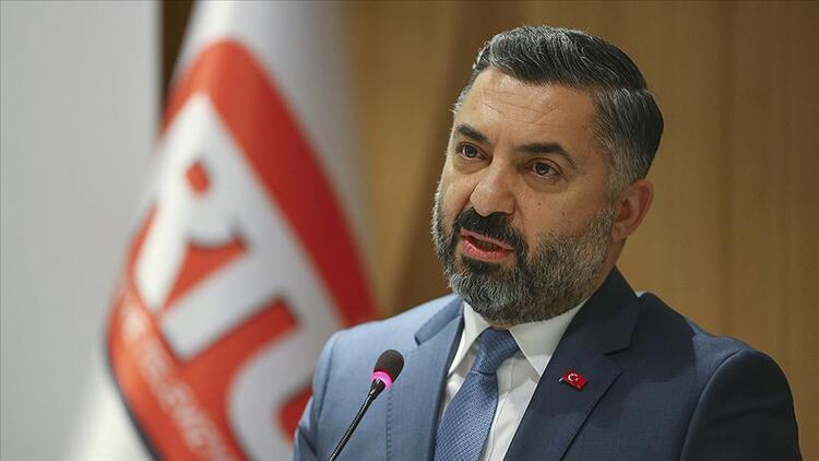 RTÜK Başkanı Şahin'den 'ayrımcılık' iddialarına tepki