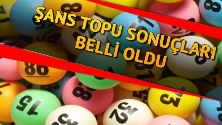 Şans Topu çekiliş sonuçları belli oldu: Büyük ikramiye devretti - MPİ 1 Nisan Şans Topu sonuç sorgulama